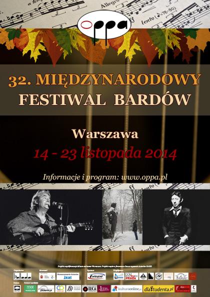 OPPA 2014 - 32. Międzynarodowy Festiwal Bardów