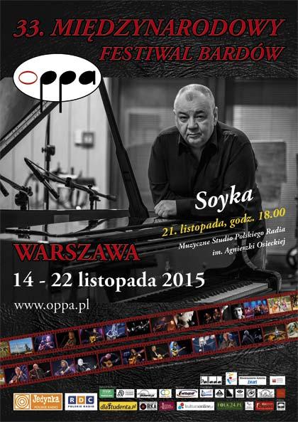 OPPA 2015 - 33. Międzynarodowy Festiwal Bardów